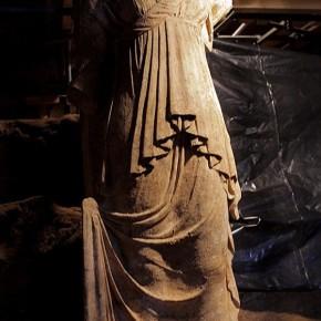 Αμφίπολη: Για τέταρτο θύρωμα, 96 εκατοστών, έκανε λόγο η κα Μενδώνη Συνεχίζονται οι εργασίεςαποχωμάτωσης