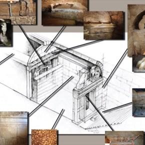 Αμφίπολη: Παρουσίαση της πρώτης σχεδιαστικής αναπαράστασης του ταφικού μνημείου Δημοσιεύματα στη «Νιου Γιορκ Τάιμς» για τις έρευνες στηνΑμφίπολη