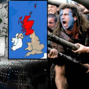 Γιατί οι Σκωτσέζοι θέλουν να «αποδράσουν» από το Ηνωμένο Βασίλειο ΕΝΑΣ ΠΕΡΗΦΑΝΟΣ ΑΡΧΑΙΟΣΛΑΟΣ
