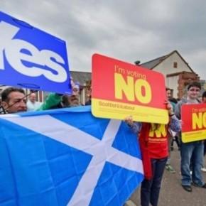 Βρετανία: Με 53% υπερισχύει το «όχι» στην ανεξαρτησία της Σκοτίας σε νέαδημοσκόπηση