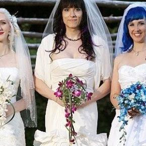 Το πρώτο νυμφευμένο τρίο!!! Δεν μπορεί…είμαστε σταέσχατα!