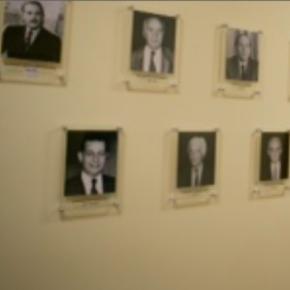 Ο τοίχος των υπουργών στο ΥΠΕΘΑ!Φωτό