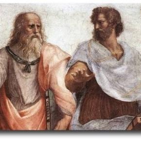 Οι πάντα επίκαιροι Αριστοτέλης καιΠλάτωνας