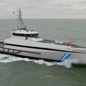 Tον Ιούνιο του 2015 η έλευση του νέου Περιπολικού Σκάφους Ανοιχτής Θαλάσσης του Λ.Σ –ΒΙΝΤΕΟ