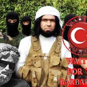Ο καρκίνος είναι η Τουρκία. Το ISIS είναι ημετάσταση
