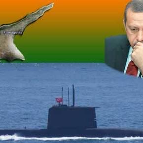 Στα νερά της Κύπρου Τουρκικό Υποβρύχιο …Ενώ μεταφέρουν άρματα στα Σύνορα τηςΣυρίας!