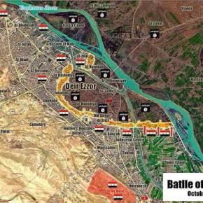 ΝΙΚΗ ΟΥΣΙΑΣ. Σφίγγει τον κλοιό ο Ασαντ στο Deir Ezzor που τσάκισε τους τζιχαντιστές –ΦΩΤΟ