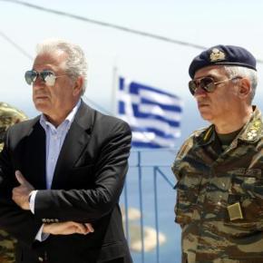 Στην Κύπρο ο Αβραμόπουλος Επίσημη επίσκεψη στην Κύπρο κάνει σήμερα ο Υπουργός Εθνικής Άμυνας ΔημήτρηςΑβραμόπουλος.