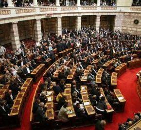 Βουλή: Πήρε την ψήφο εμπιστοσύνης η κυβέρνηση Σαμαρά 155 «ναι», 131 «όχι», 2 «παρών» και 12απόντες