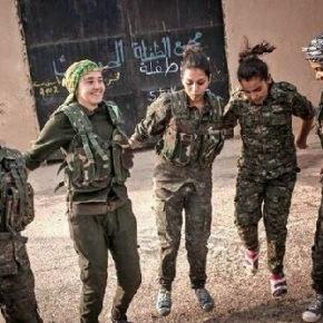 Η μάχη της Kobane από ψηλά –ΒΙΝΤΕΟ