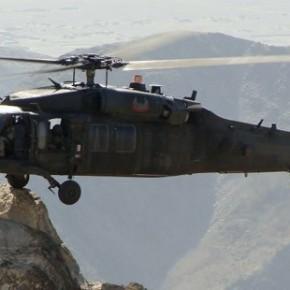 «Στούκαρε» στο βουνό το Τούρκικο ελικόπτερο …Τέσσερις οι νεκροί!