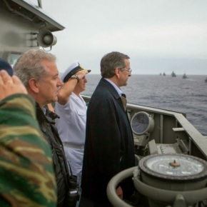 Στην τελετή καθέλκυσης του υποβρυχίου ΠΙΠΙΝΟΣ ο Αντ.Σαμαράς
