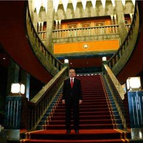 Ο Ερντογάν εγκαινιάζει το νέο πολυτελές και τεράστιο «παλάτι» του(φωτογραφιες)