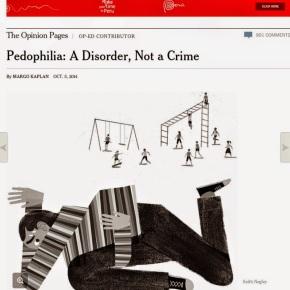 NYT: «Η παιδοφιλία δεν είναι έγκλημα. Οι παιδόφιλοι είναι θύματα διακρίσεων και πρέπει να προστατευθούν από τοκράτος»