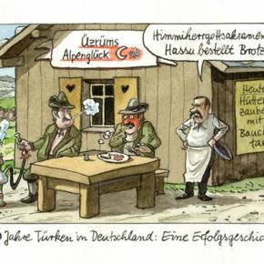 Αυτό είναι το σκίτσο που εμφανίζει τον Ερντογάν… σκύλο! Έξαλλη με τη Γερμανία ηΆγκυρα