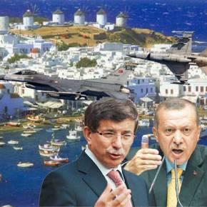 Εξευτελισμός: Τα τουρκικά F-16 ήταν πάνω απο τη Μύκονο κι ο Σκρέκας στη Σμύρνη έλεγε για το «Πόσο μας σέβονται οιΤούρκοι»!
