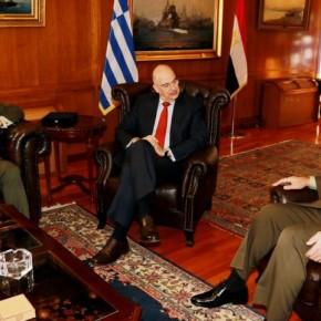 Τόνωση της στρατιωτικής συνεργασίας Ελλάδας καιΑιγύπτου