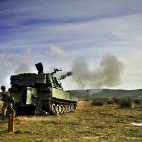 Βολές Πυροβολικού στην 95 ΑΔΤΕ (εντυπωσιακέςΦΩΤΟ)