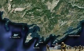Τα τουρκικά σχέδια κατάληψης του συμπλέγματος της Μεγίστης και η δυνατή ελληνικήαντίδραση