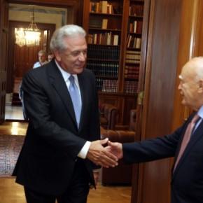 Με το που πάτησε Βρυξέλλες ο Αβραμόπουλος τον γυρνάνε πίσω γιαΠρόεδρο!