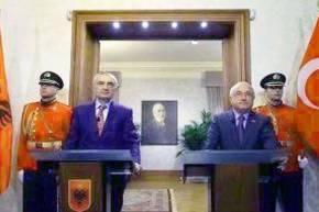 Αλβανία: «Η συνεργασία με την Τουρκία θα προσφέρει περισσότερη ασφάλεια»
