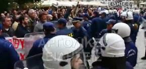Μούτζες και «κλέφτες, κλέφτες» φώναζαν στο Σαμαρά στο Ναύπλιο –ΒΙΝΤΕΟ