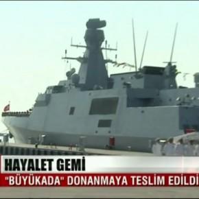 Προκαλούν οι Ισλαμιστές: Τουρκική κορβέτα πλέει δίπλα στις ακτέςμας