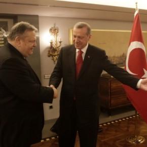 Το αποτέλεσμα των συνομιλιών Βενιζέλου με Ερντογάν-Τσαβούσογλου Ελλάδα-Τουρκία: Συμφωνούν στην επανέναρξη συνομιλιών για το Κυπριακό – Διαφωνούν σε όλα ταυπόλοιπα