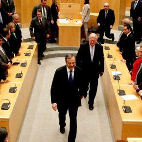 Όλα τα είπε ο Σαμαράς στη κυπριακήΒουλή