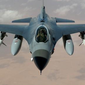 Παρέλαση ελληνικών F-16 πάνω από τα ακριτικάνησιά