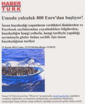 600 έως…12.000 ευρώ το εισιτήριο των λαθρομεταναστών από Τουρκία προςΕλλάδα
