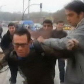 Δείτε τη στιγμή της επίθεσης Τούρκων στους τρεις Αμερικανούς ναύτες στην Κωνσταντινούπολη