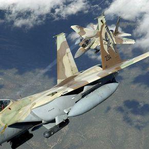 Aεροπορικές ασκήσεις του Ισραήλ στο FIRΛευκωσίας