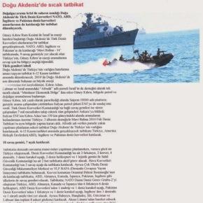Με την κάλυψη του ΝΑΤΟ, οι τούρκοι προχωρούν σε νέες προκλήσεις στην ανατολικήΜεσόγειο