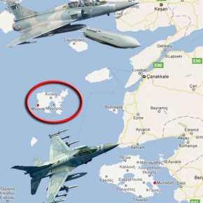 Έκτακτο:Συγκέντρωση πολεμικών αεροπλάνων στην Λήμνο – F-16, Mirage 2000 και Mirage 2000 – V σε διάταξημάχης!