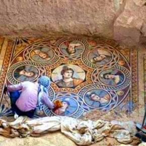 Εκπληκτικής τέχνης ψηφιδωτά ανακαλύφθηκαν στην αρχαία ελληνική πόληΖεύγμα