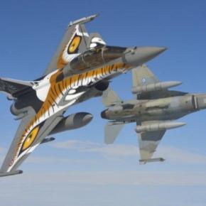 Ελληνικά F 16 στην Τουρκία στην μονάδα που έριξε τονΗλιάκη!