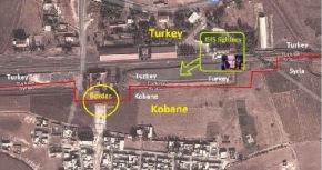 Αυτή είναι η Τουρκία. Βομβάρδισε το Κομπάνε κι έκανε τα στραβά μάτια σε φυλάκιο να περάσουν οιτζιχαντιστές