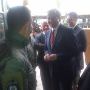 Ο Σαμαράς με την ομάδα ΖΕΥΣ της ΠΑ στο Ναύπλιο και τι αποκάλυψε ο Κικίλιας στουςπιλότους