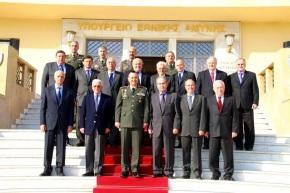 Επίσκεψη Διατελεσάντων Αρχηγών στο ΓΕΣ (Φωτογραφίες)