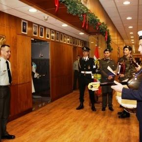 Πρωτοχρονιάτικα Κάλαντα στο Γενικό Επιτελείο Στρατού(φωτογραφίες)