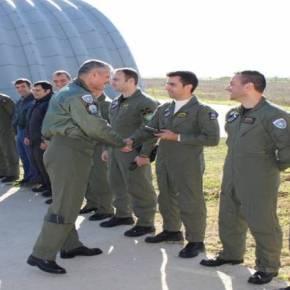Ο Αρχηγός ΓΕΑ σε μονάδες readiness εν μέσω εμπλοκών στο Αιγαίο-ΦΩΤΟ