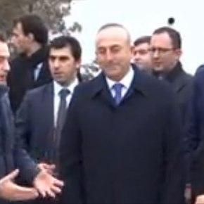 Στο τάφο του Σαδίκ ο Τούρκος ΥΠΕΞ & «μυστική» σύσκεψη με τους Βουλευτές της «Μειονότητας»!(vid)