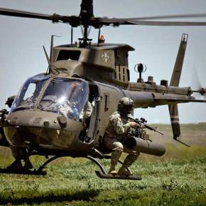 Ελικόπτερα OH-58D Kiowa Warrior για την ΑεροπορίαΣτρατού;