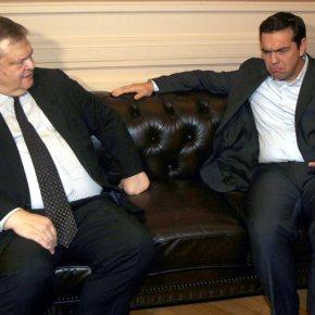 Συνάντηση Βενιζέλου – Τσίπρα: Επιφυλάξεις του προέδρου του ΣΥΡΙΖΑ για το Συμβούλιο συνεργασίας με Τουρκία Υπουργός Εξωτερικών: Αναγκαία η συναντίληψη για τα θέματα εξωτερικής πολιτικής – Αρχηγός Αξιωματικής Αντιπολίτευσης: Χρειάζεται εθνικός στρατηγικόςσχεδιασμός
