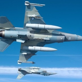 Έπεσε διθέσιο F 16 βόρεια της Γαύδου – Σώοι οιπιλότοι