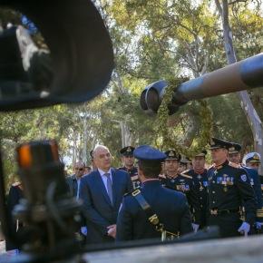 Χαιρετισμός ΥΕΘΑ Νίκου Δένδια στον εορτασμό της Προστάτιδας του Πυροβολικού Αγ.Βαρβάρας