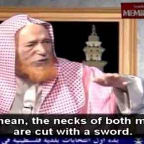 Σαουδάραβας ιμάμης εξηγεί πώς πρέπει να σκοτώνονται οι ομοφυλόφιλοι[βίντεο]