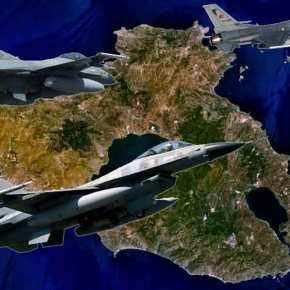 Σκληρές αερομαχίες ελληνικών και τουρκικών F16 πάνω από τη Λέσβο – Τα μάζεψαν κι έφυγαν τατουρκάκια!