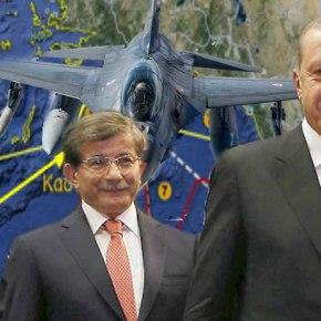 Με δώδεκα Μαχητικά (4 οπλισμένα ) απάντησαν οι Τούρκοι στο Μπαράζ Ασκήσεων τωνΕ.Δ